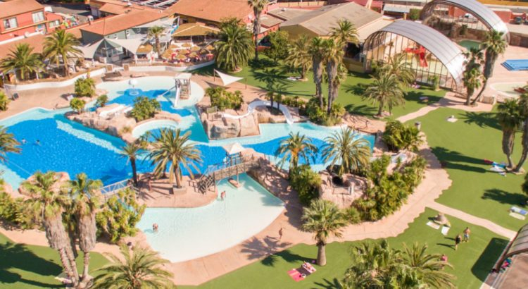 Camping La Sirene in Languedoc-Roussillon.