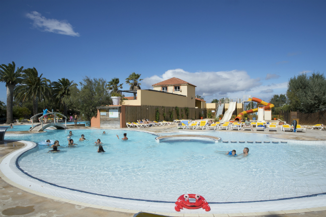 Camping Le Pre Catalan is een echte familiecamping in Languedoc-Roussillon.