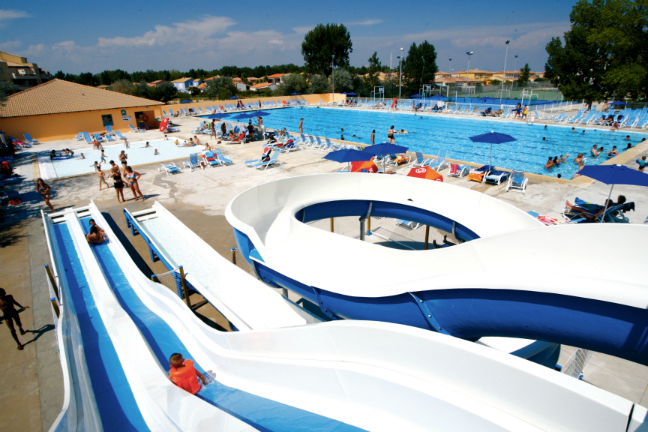 Dit is camping Domaine L'Elysee in Languedoc-Roussillon.