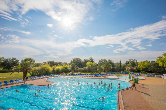 Camping les Marsouins in Languedoc-Roussillon.