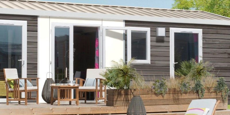 Accommodatie GLAMPING - Glamping Mobile Home