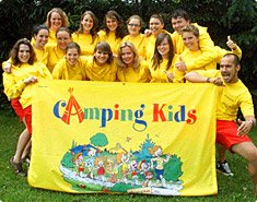 Campingtainment animatieteam op camping Vacansoleil